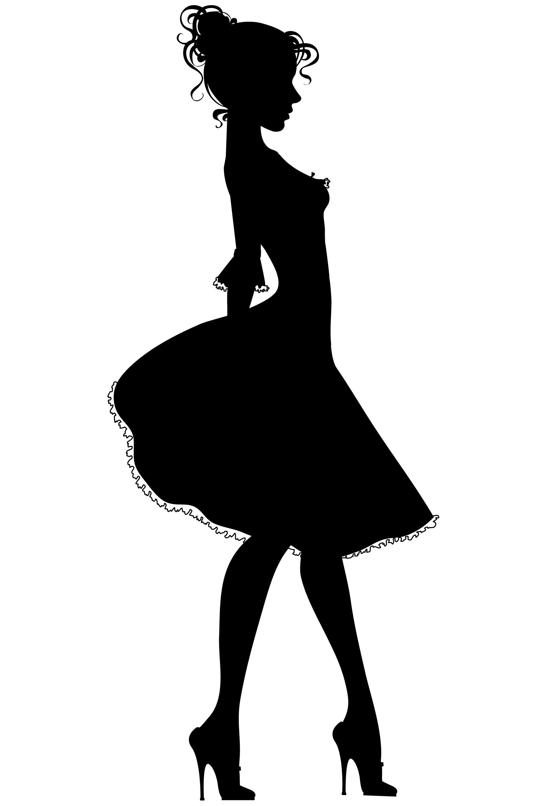 Woman Silhouette On Pinterest